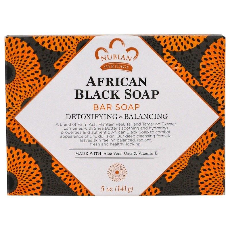 Африканское черное мыло, Nubian Heritage (цена - около 200 рублей)
