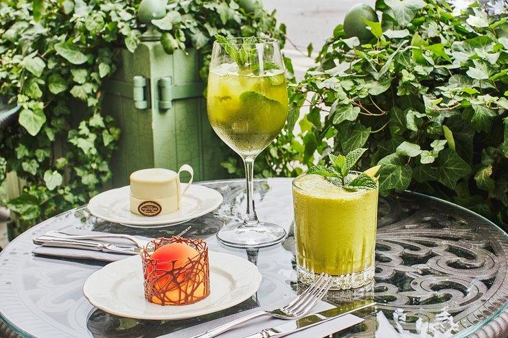 Матча-меню иновые десерты вресторане икондитерской «Кафе Пушкинъ»