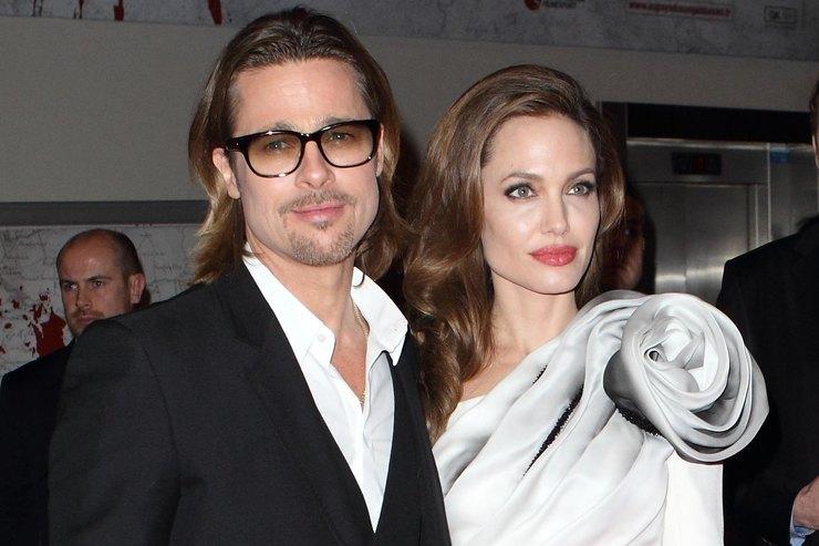 Анджелина Джоли объявила «холодную войну» Брэду Питту