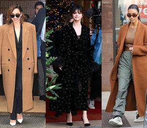 Как преобразить базовое кашемировое пальто? 5 подсказок от самых модных звезд