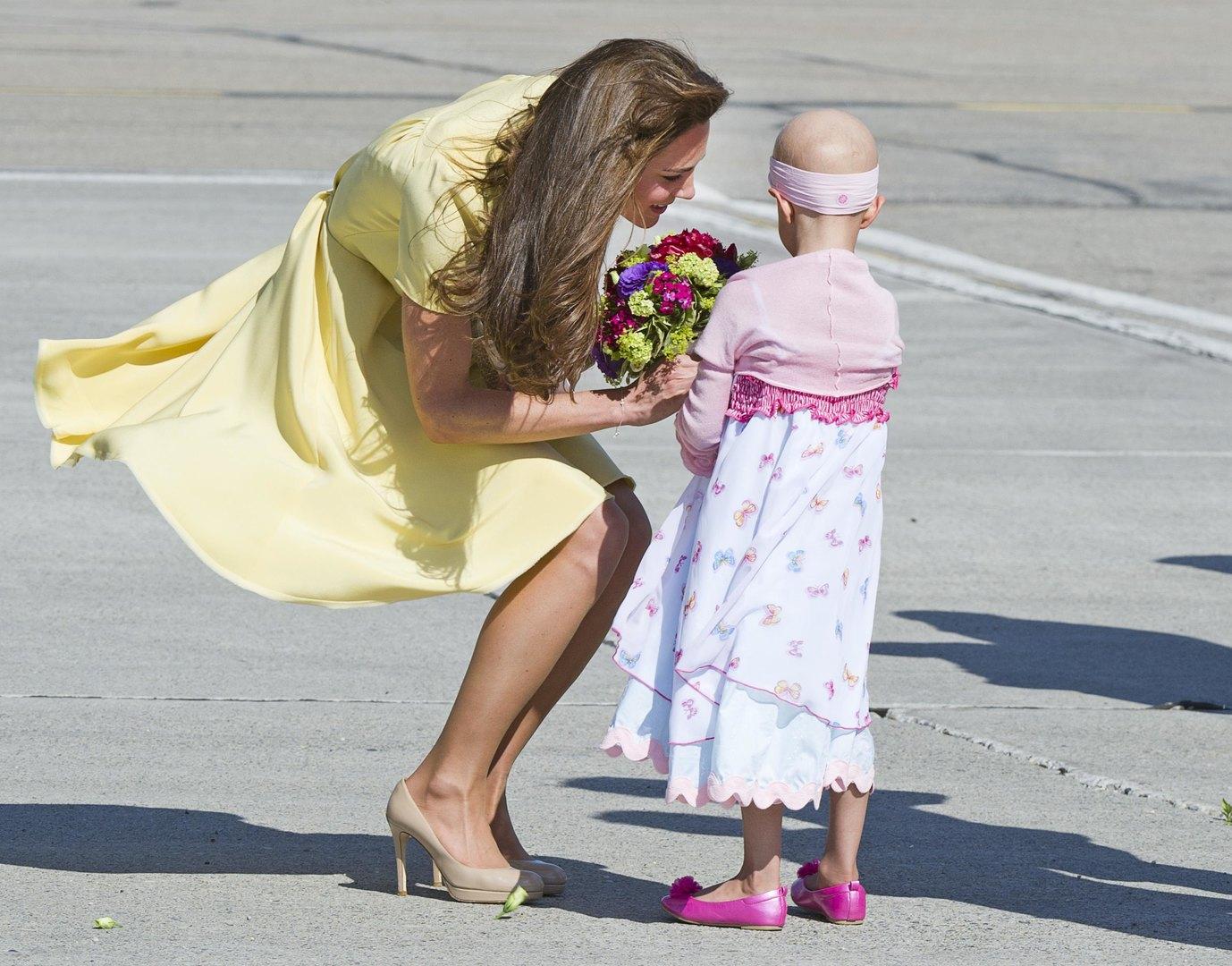 Кейт во время королевского тура поКанаде,