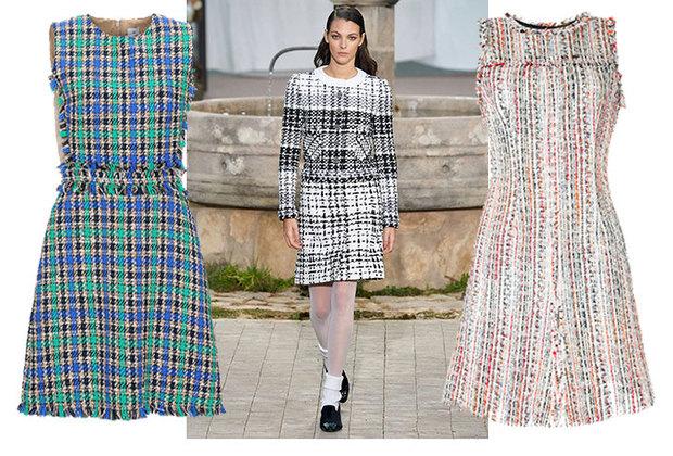 Как уChanel: 10 женственных твидовых платьев от1500 рублей