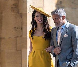 Платье, которое Амаль Клуни надела на свадьбу Меган Маркл, теперь можно купить!