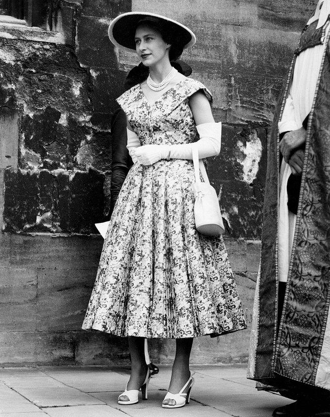 Принцесса Маргарет в 1953году