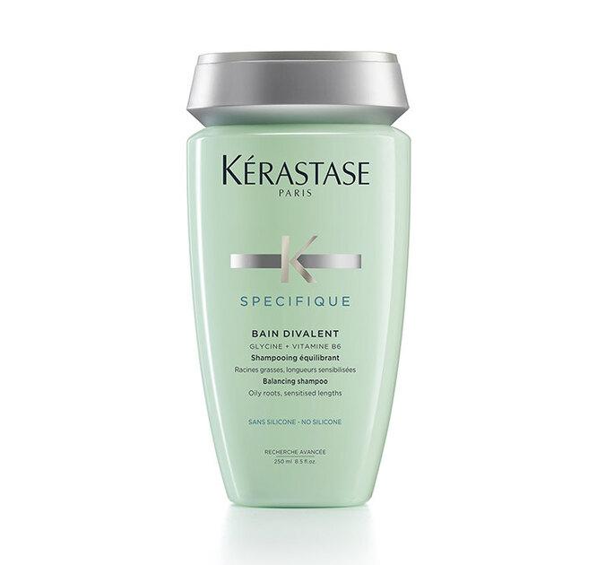 Шампунь-ванна для волос, жирных у корней и чувствительных по длине Specifique Bain Divalent, Kérastase