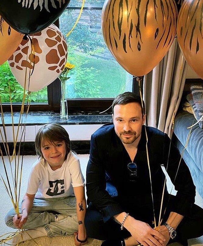 Алексей Чадов с сыном