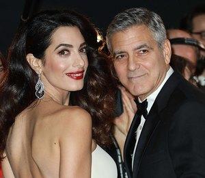 Молодые родители Джордж и Амаль Клуни провели романтический вечер в Италии