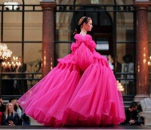 Платья-тортики: главный тренд вечерний моды, который можно применить к свадьбе