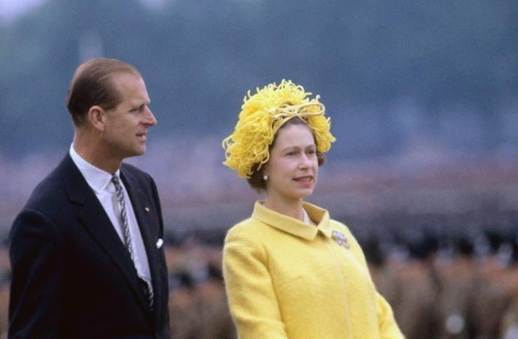 Принц Филипп иЕлизавета II; 1965 год