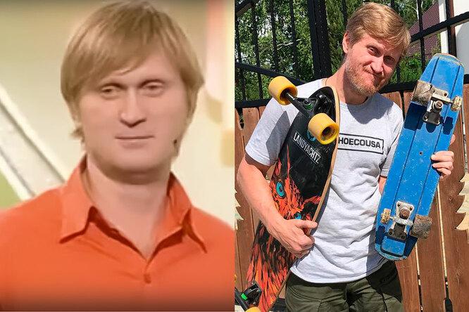 Андрей Рожков в квн и сейчас