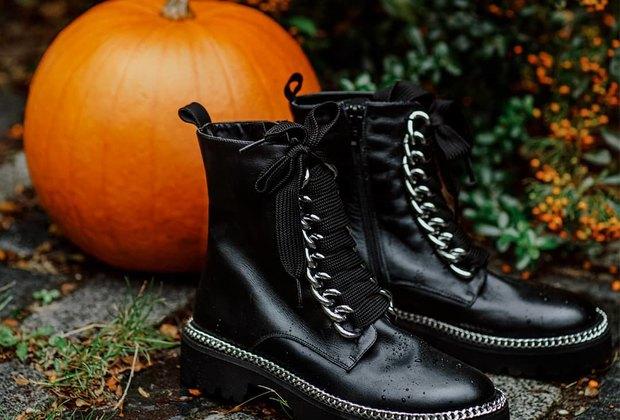 Ботинки натракторной подошве — самое модное спасение отлуж