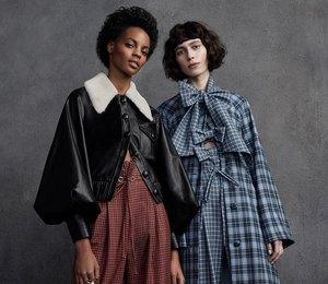 Буржуазное общество: пальто свикторианскими рукавами нараннюю осень