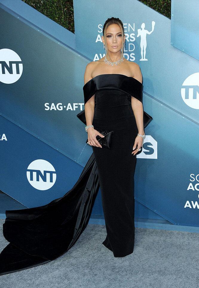 Дженнифер Лопес наScreen Actors Guild Awards в 2020 году